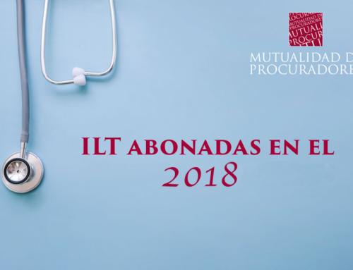 RELACIÓN DE LAS ILT ABONADAS EN EL 2018